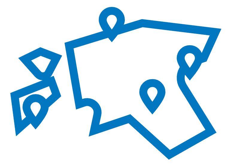 Illusuratiivne ikoon, link avalikele supluskohtadele