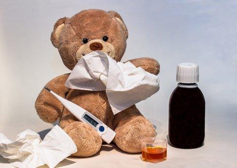 Pildil on karu, kraadiklaas ja ravimid haiguse raviks.