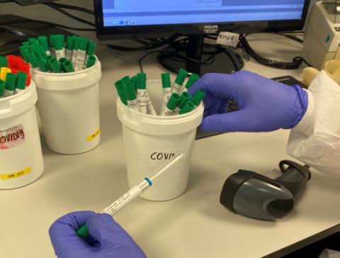 Koroonaviiruse testid SYNLAB laboris